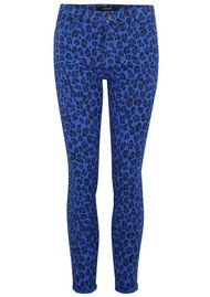 J Brand 835 Mid Rise Cropped Photo Ready Skinny Jeans - Royal Jaguar
