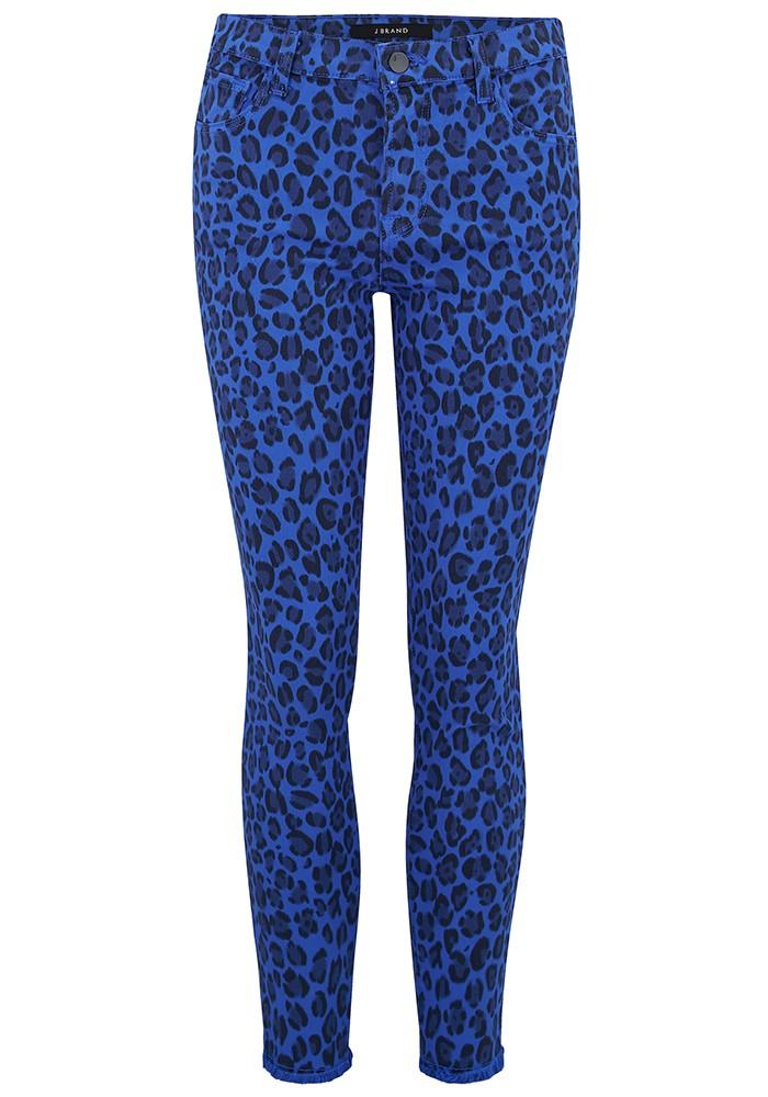 J Brand 835 Mid Rise Cropped Photo Ready Skinny Jeans - Royal Jaguar main image