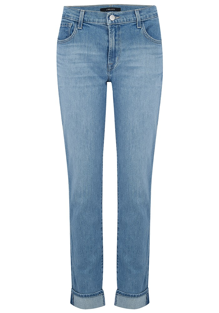 Johnny Mid Rise Boyfriend Jeans - Fortuny main image