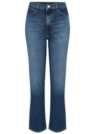J Brand Jules High Rise Straight Leg Jean - Metropole