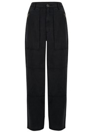 J Brand Noelle Carpenter Pants - Washed Black