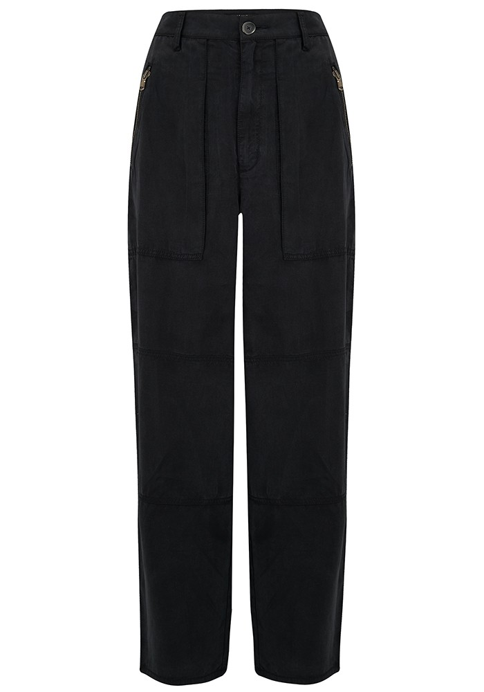 J Brand Noelle Carpenter Pants - Washed Black main image