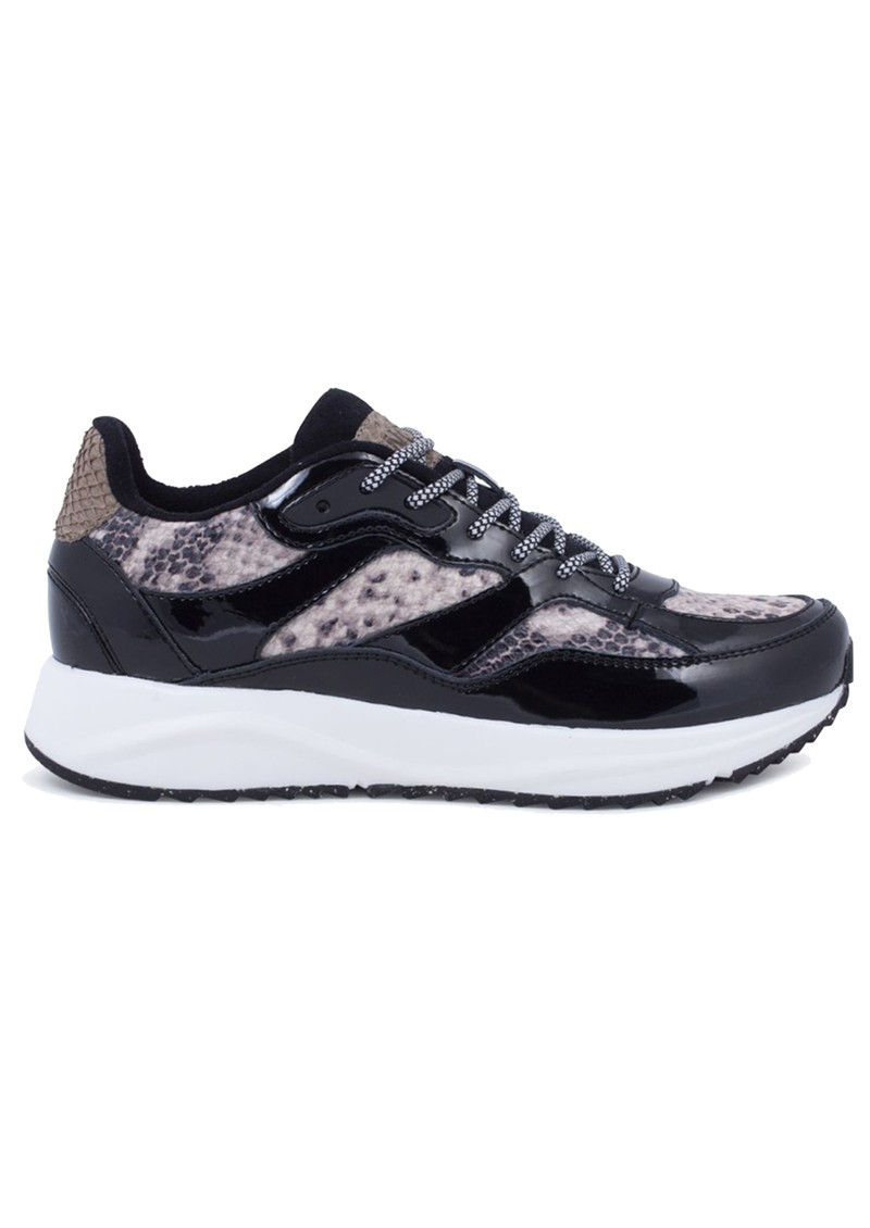 WODEN Sophie Trainers - Brown Snake main image