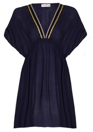 NOOKI Lagoon Dress - Navy