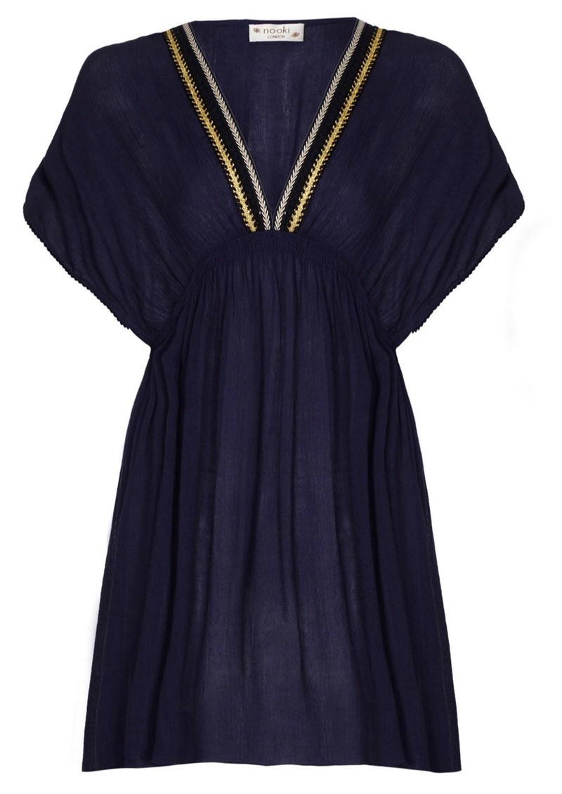 NOOKI Lagoon Dress - Navy main image