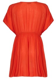 NOOKI Lagoon Dress - Orange