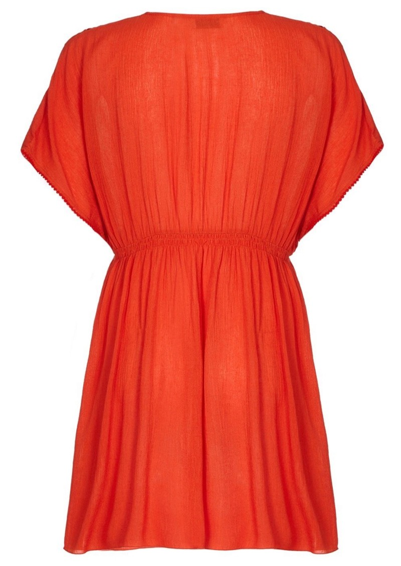 Lagoon Dress - Orange main image