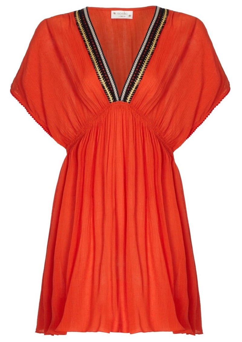 NOOKI Lagoon Dress - Orange main image