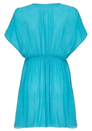 NOOKI Lagoon Dress - Aqua