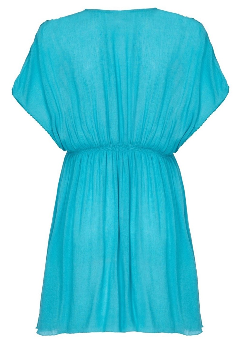 NOOKI Lagoon Dress - Aqua main image