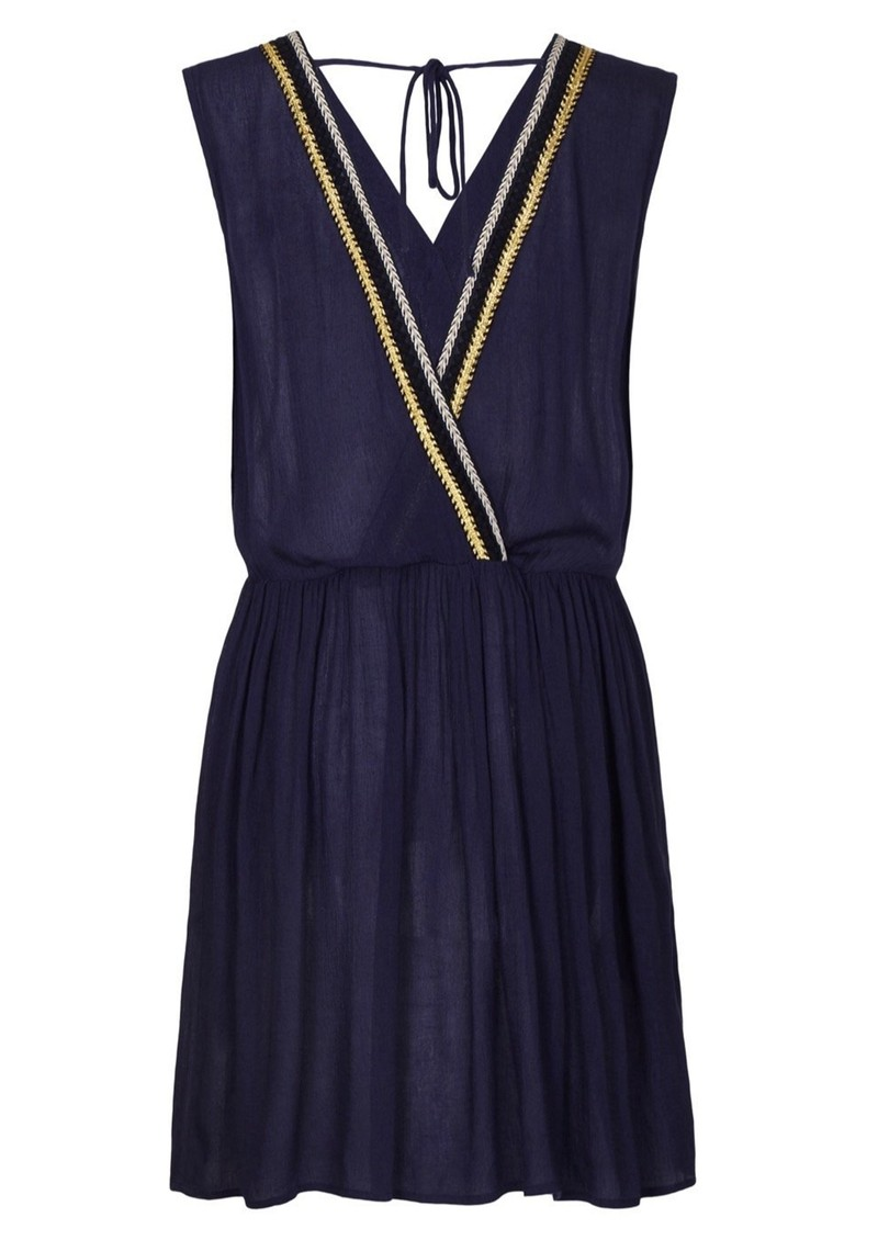 NOOKI Laguna Dress - Navy main image