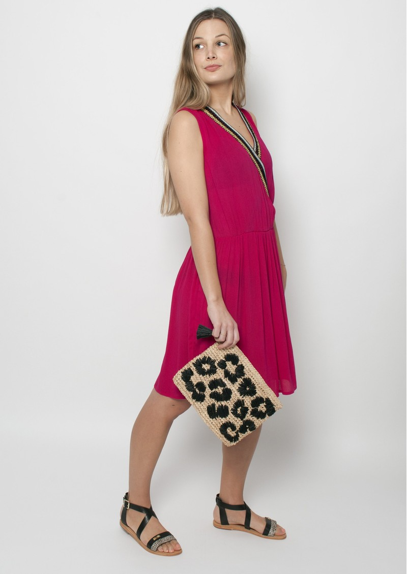 NOOKI Laguna Dress - Pink main image