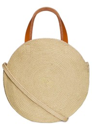 NOOKI Jute Round Shopper - Cockatoo