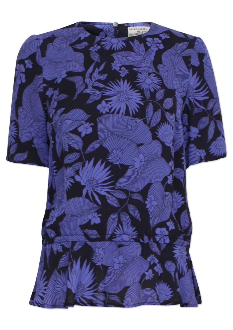 BAUM UND PFERDGARTEN Meris Top - Tropical Blue main image