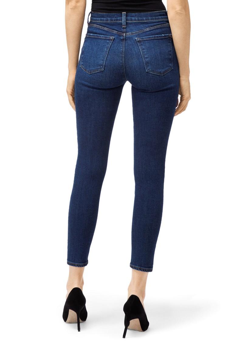 J Brand Alana High Rise Crop Skinny Jeans - Arcade main image