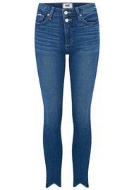 Paige Denim Hoxton Ankle Double Button Jeans - Janie