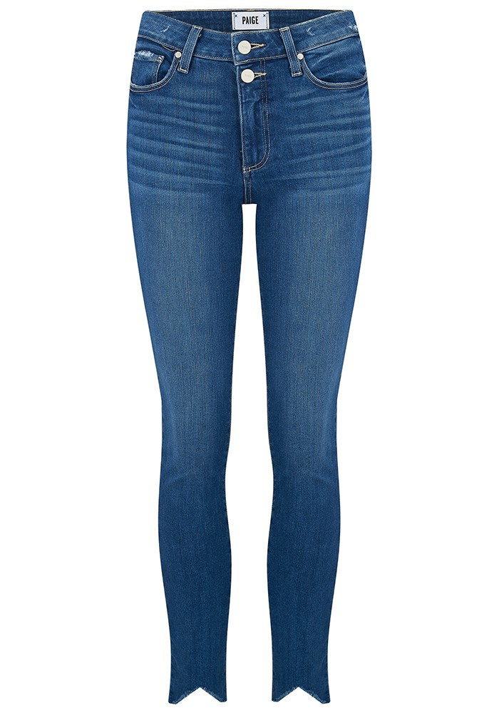 Hoxton Ankle Double Button Jeans - Janie main image