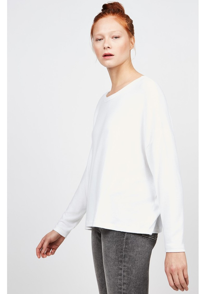 American Vintage Vetington Long Sleeve Top - White main image