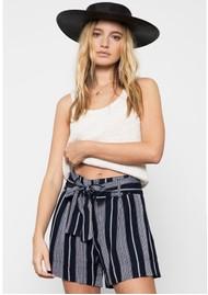 Rails Katy Shorts - Mediterranean Stripe