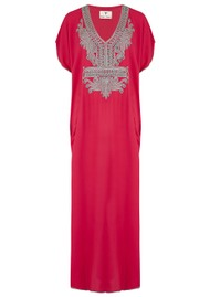 TRIBE + FABLE Marakesh Dress - Red