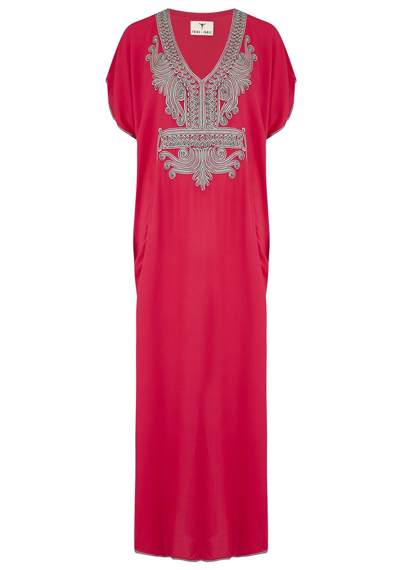 TRIBE + FABLE Marakesh Dress - Red main image