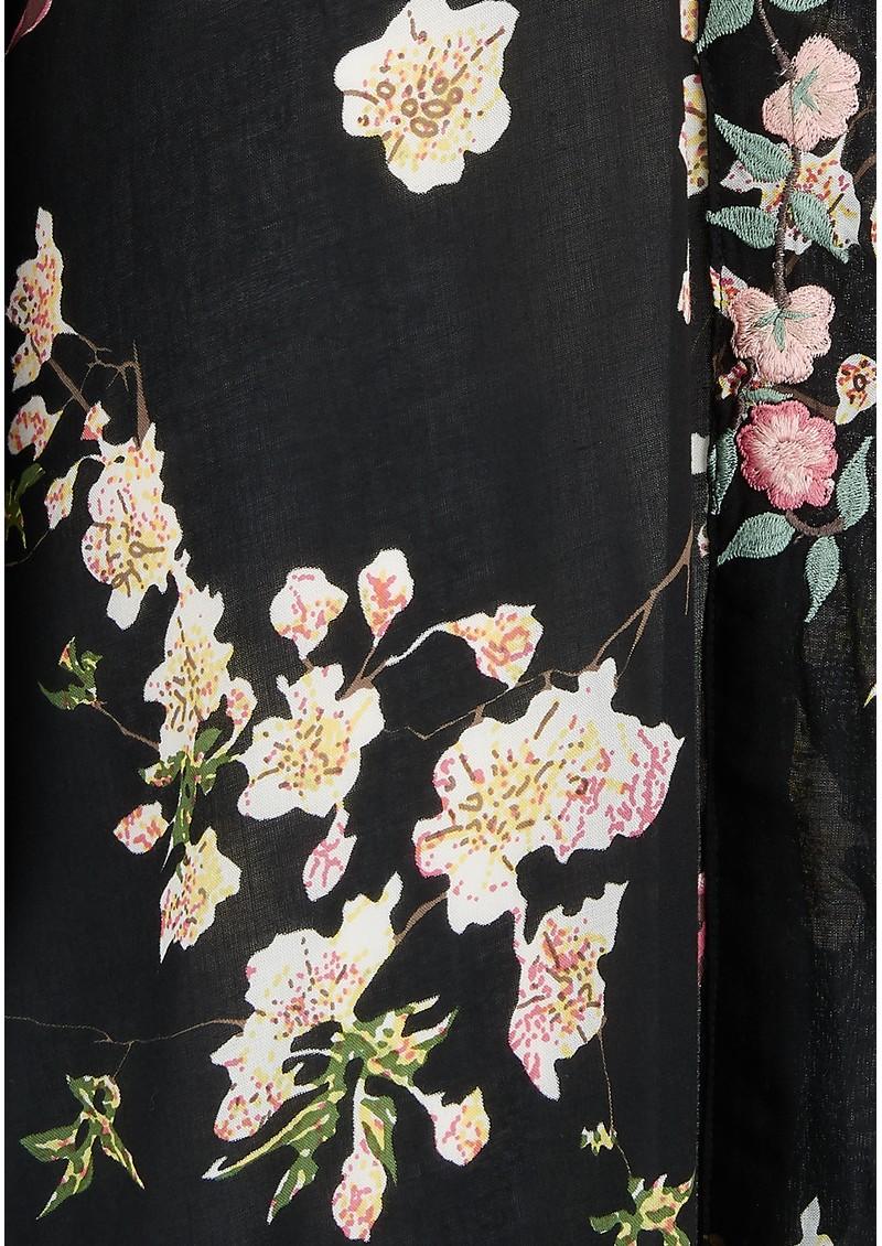 TRIBE + FABLE Kyoto Kimono Jacket - Black main image