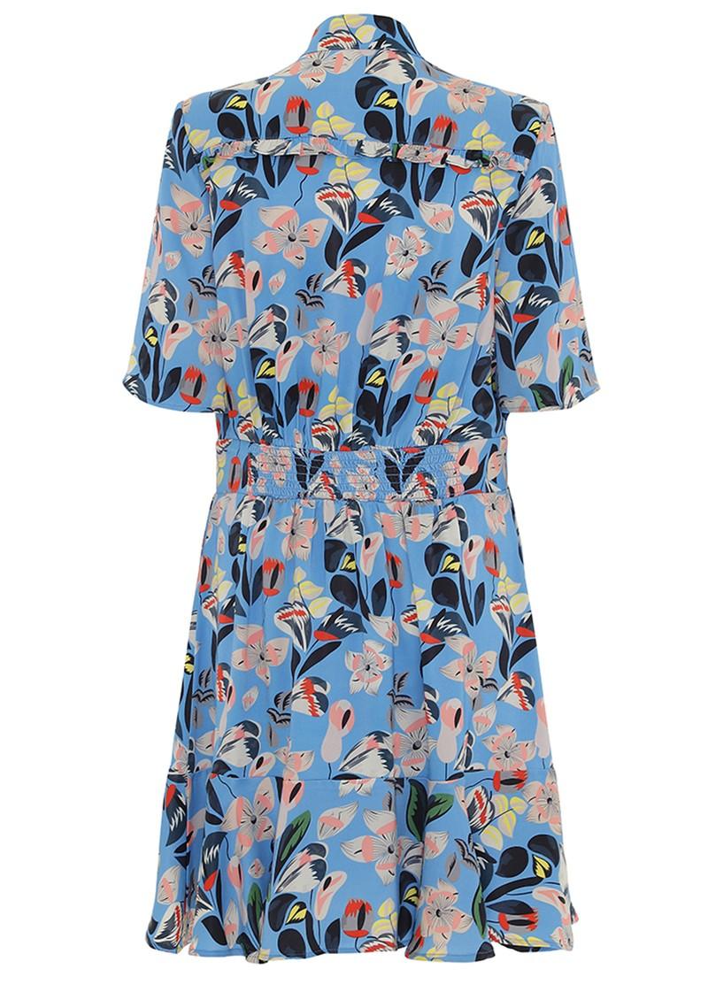 CUSTOMMADE Eva Dress - Azure Blue main image