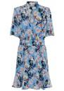 CUSTOMMADE Eva Dress - Azure Blue