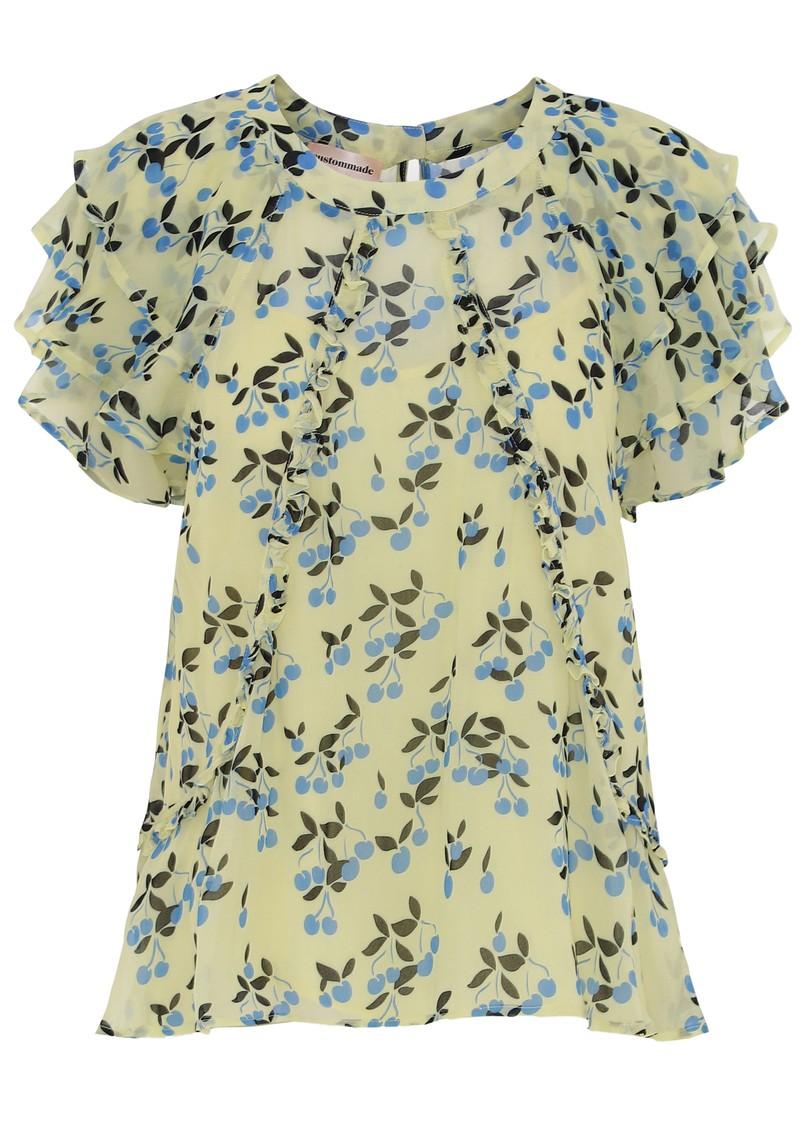 CUSTOMMADE Othilia Blouse - Yellow main image
