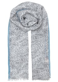Becksondergaard Inky Dots Cotton Scarf - Dark Navy