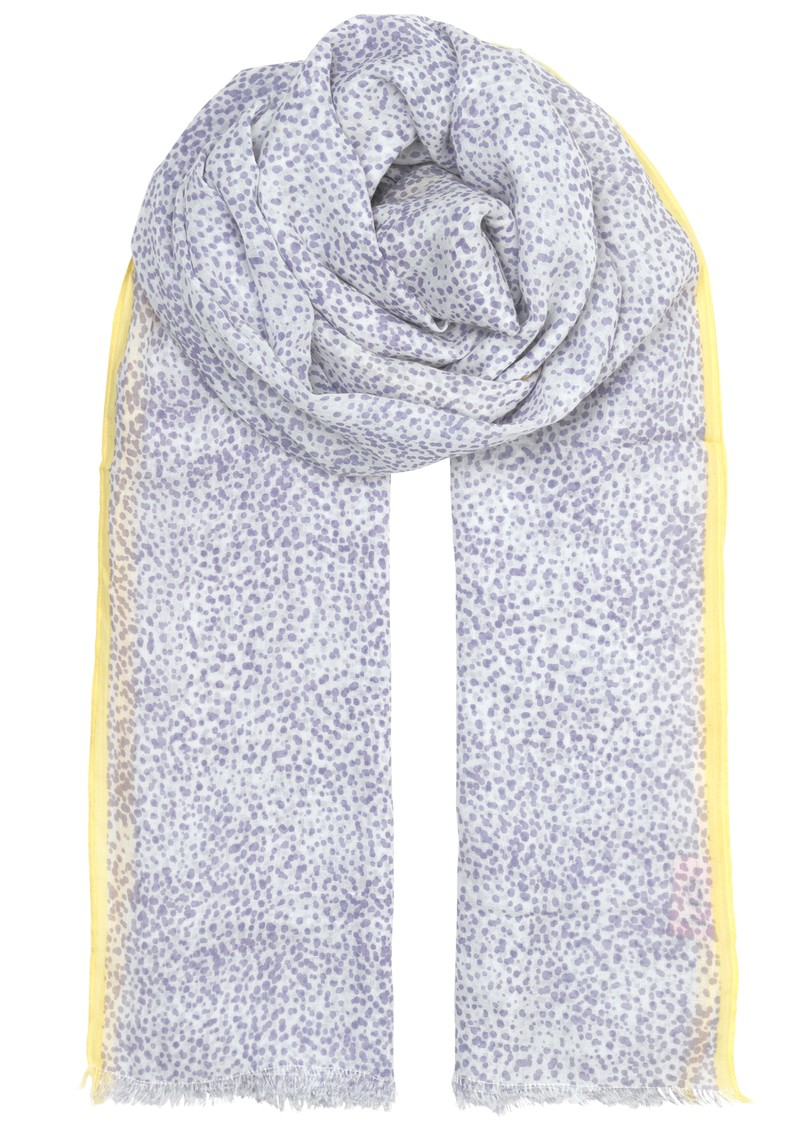Becksondergaard Inky Dots Cotton Scarf - Lavender main image