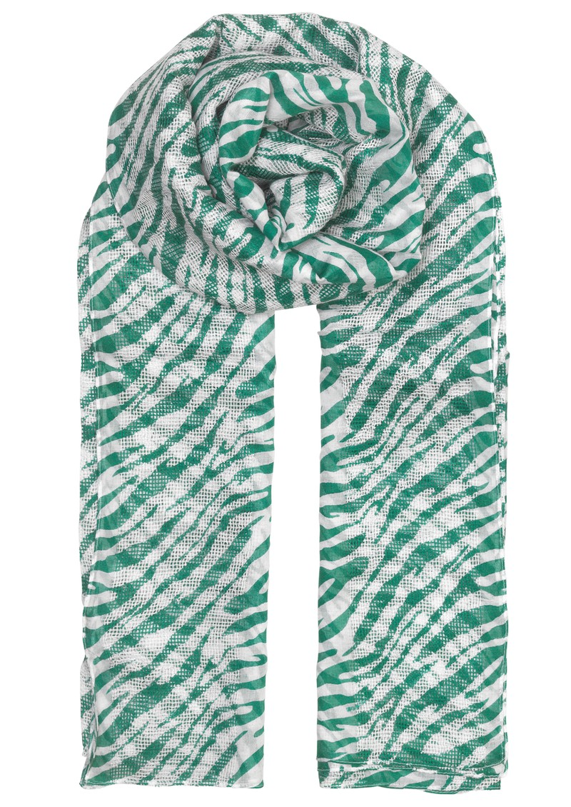 Santino Cotton Scarf - Green main image