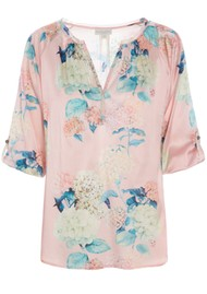 DEA KUDIBAL Natali Silk Top - Bloom
