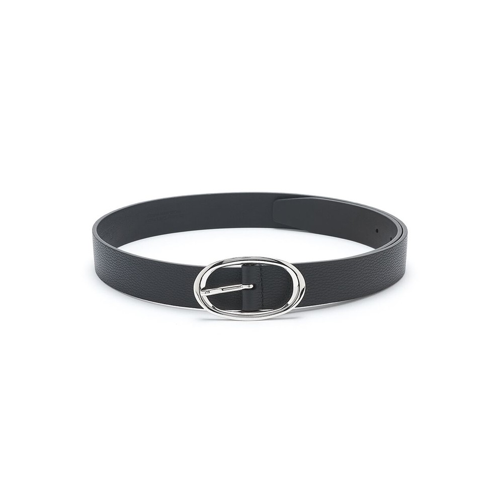 Soft Leather Belt - Black