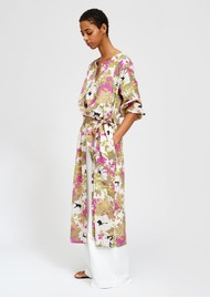 ESSENTIEL ANTWERP Sabria Floral Button Down Dress - Combo 1