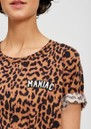 Saiden Leopard Print T-Shirt - Combo 1 & Black additional image