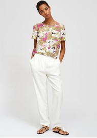 ESSENTIEL ANTWERP Saturna Short Sleeve Floral Top - Combo 1