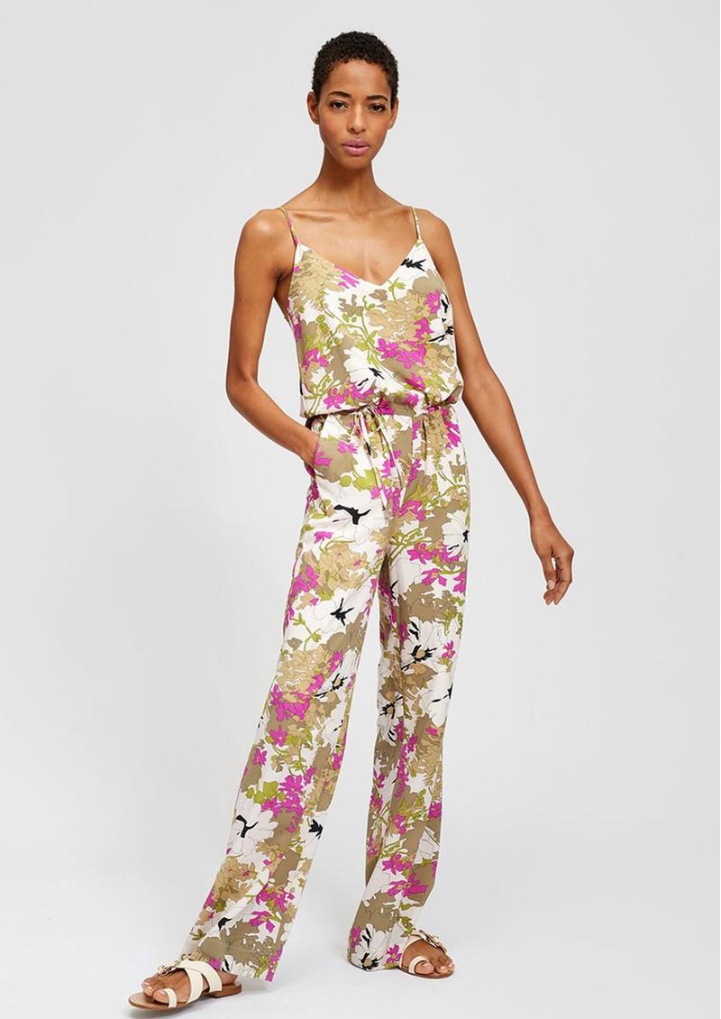 ESSENTIEL ANTWERP Shotgun Floral Jumpsuit - Combo 1 main image