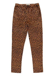 ESSENTIEL ANTWERP Signorita Leopard Tapered Trousers - Sesame