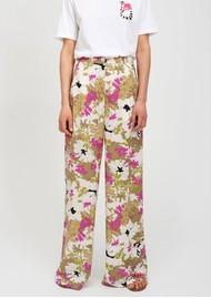 ESSENTIEL ANTWERP Stardust Wide Leg Floral Trousers - Combo 1