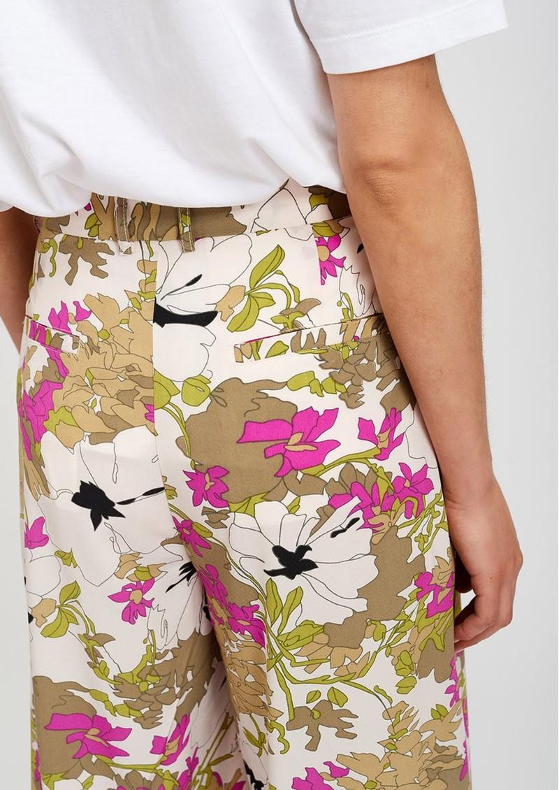 ESSENTIEL ANTWERP Stardust Wide Leg Floral Trousers - Combo 1 main image
