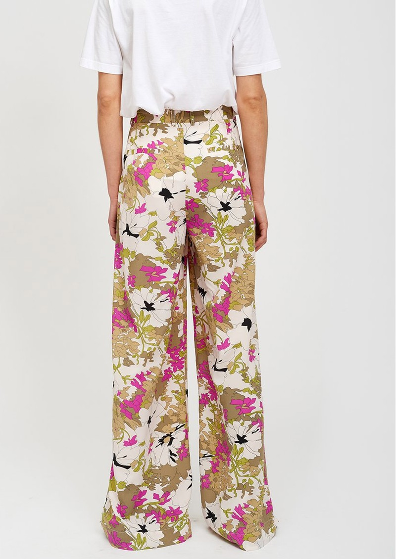 Stardust Wide Leg Floral Trousers - Combo 1 main image