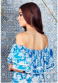 9bacca98e7 NEVE   NOOR Cala Maxi Dress - Azure