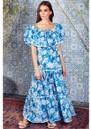 NEVE & NOOR Cala Maxi Dress - Azure