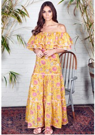 NEVE & NOOR Cala Maxi Dress - Sunflower