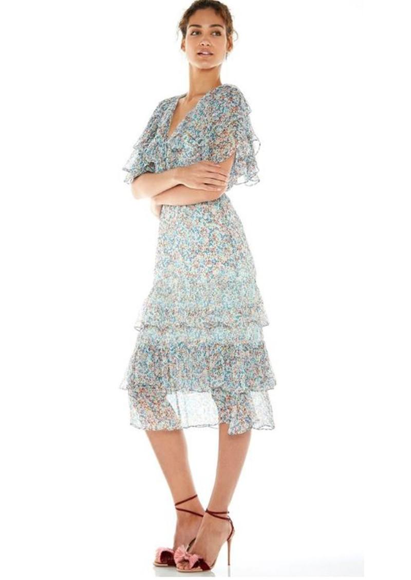 TALULAH Bouquet Floral Midi Dress - Micro Floral  main image