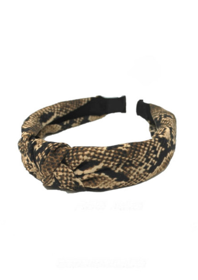 UNIVERSE OF US Snake Headband - Brown Snake  main image