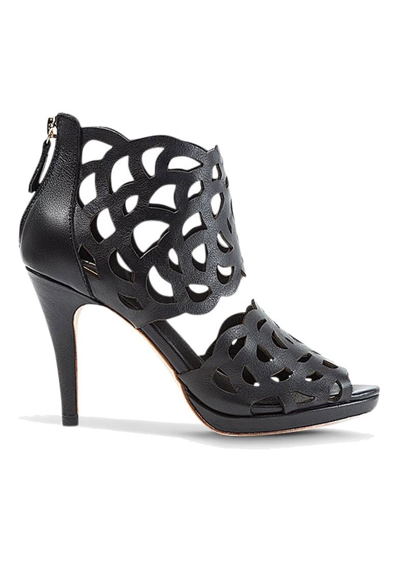 SARGOSSA Inspire Leather Heels - Black main image