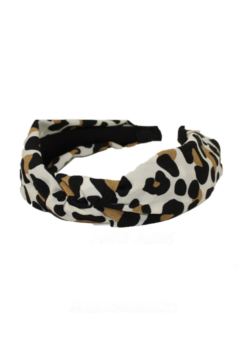 UNIVERSE OF US Slim Leopard Headband - Natural main image