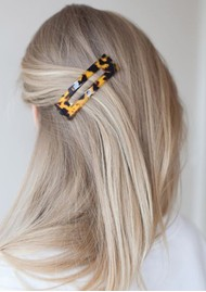 SUI AVA Amelie Hair Clip - Brown